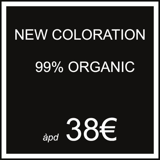 [NICOLAS-T-COIFFEUR-WOLUWE-SAINT-PIERRE] FR PRIX à partir de : NEW COLORATION 99% ORGANIC